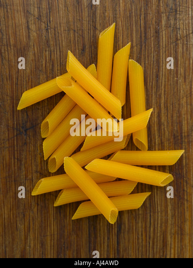 Corn penne pasta - high end Hasselblad 61mb digital image - Stock Image