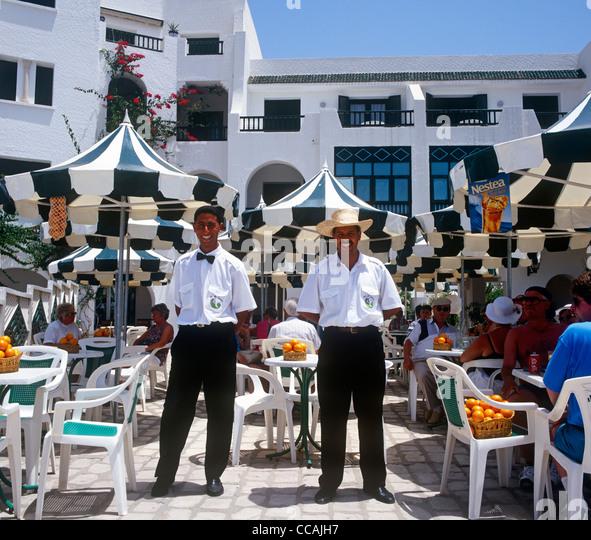 Traditional Restaurant Sousse Tunisia - Stock Image