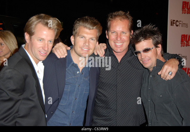 Jimmy Roberts, Mike Mouse McCoy, Rick Johnson, Troy Lee at arrivals for DUST TO GLORY Premiere, The Dome at Pacific - Stock Image