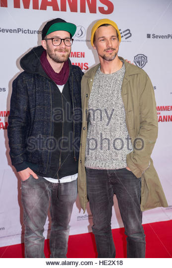 Special Screening of 'Willkommen bei den Hartmanns' at Zoo Palast.  Featuring: Mark Forster, Florian David - Stock Image