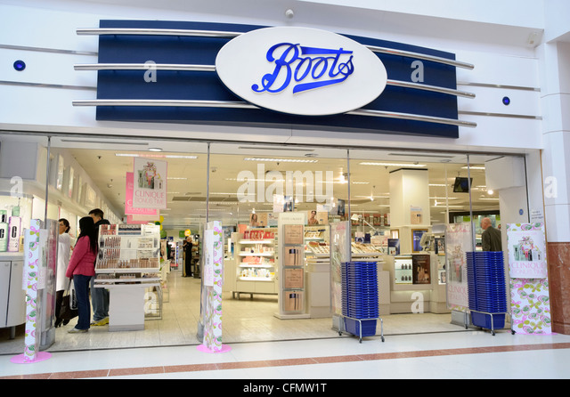Boots chemist at Merry Hill shopping centre, West Midlands, UK. - Stock Image