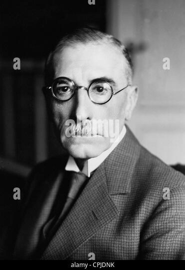 Baron Wilhelm von Gayl - Stock Image