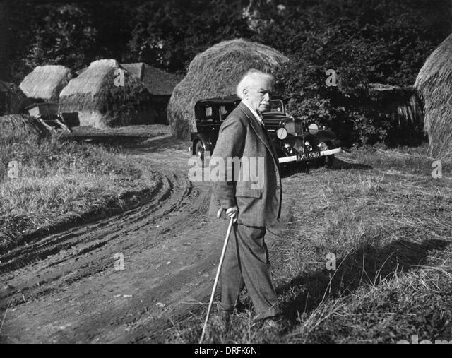 David Lloyd George, British Prime Minister - Stock Image