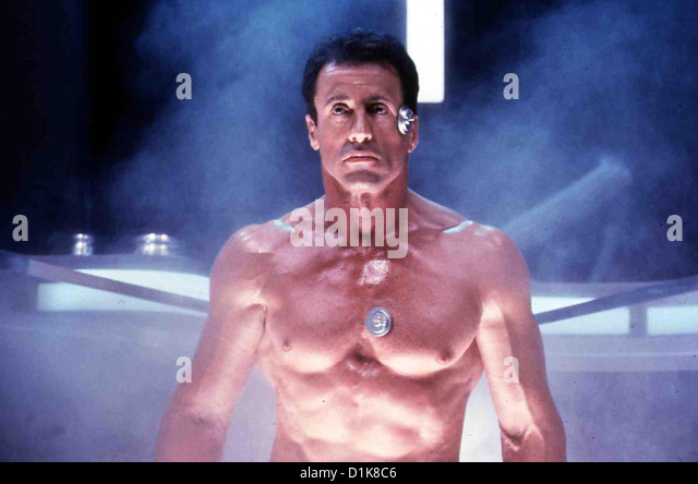 Demolition Man  Demolition Man  Sylvester Stallone Im Jahre 2032 wird John (Sylvester Stallone) in Los Angeles wieder - Stock Image
