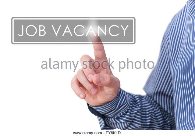 job vacancy - Stock Image