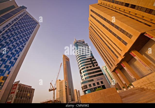 Kuwait architecture modern - Stock Image