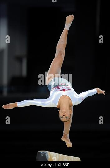 CLAUDIA FRAGAPANE GYMNASTIC'S GYMNASTIC'S THE SSE HYDRO GLASGOW SCOTLAND 29 July 2014 - Stock Image