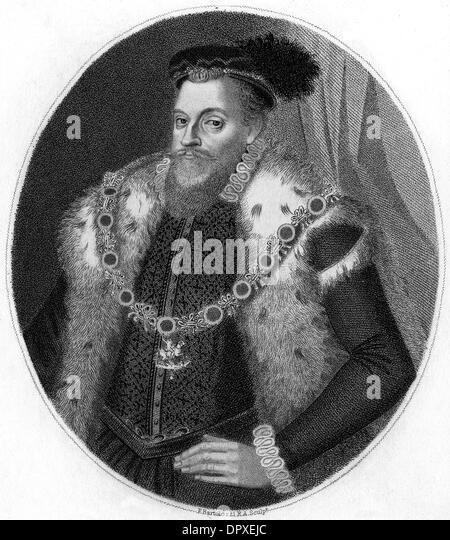 SIR HENRY SIDNEY - Stock Image