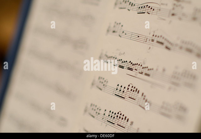 Printed Music Stock Photos Amp Printed Music Stock Images
