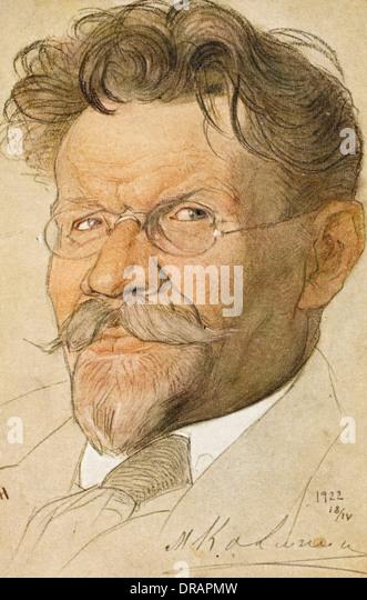 Mikhail Ivanovich Kalinin - Stock Image