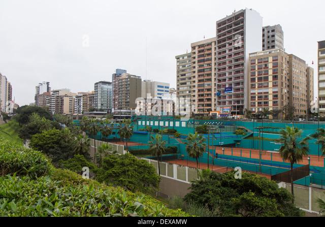 Miraflores in Lima, Peru - Stock Image