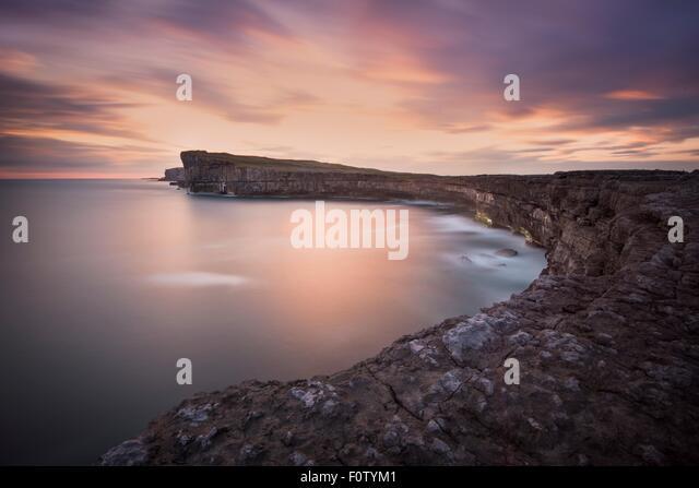 Coastline, Inishmore, Aran Islands, Ireland - Stock-Bilder