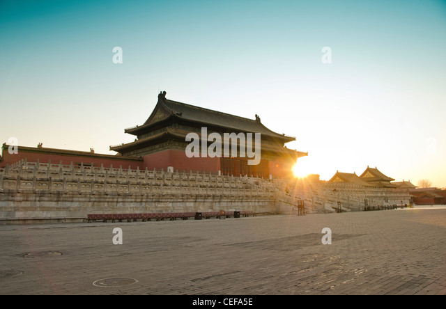 The Forbidden City (Palace Museum) in Beijing, China - Stock Image