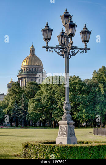 St Isaacs cathedral. St Petersburg. Russia - Stock Image