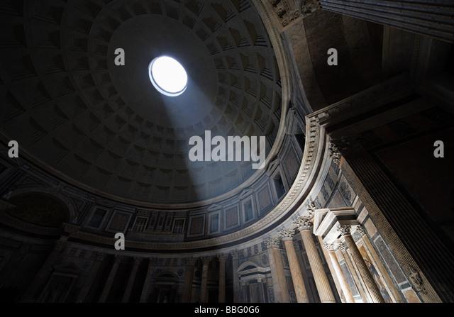 Pantheon rome - Stock Image
