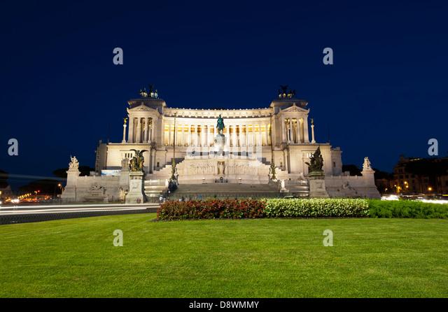 Monument Vittorio Emanuele II - Stock Image