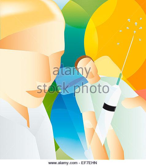 how to prepare heparanised syringes
