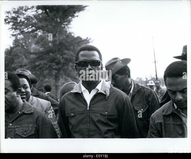 May 05, 1968 - Sidney Poitier at Resurrection city. - Stock Image