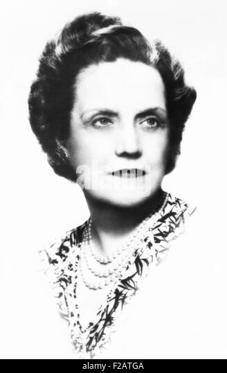 Pearl Mesta, an American socialite and political hostess, ca. 1940. At age 27 Pearl married industrialist George - Stock Image