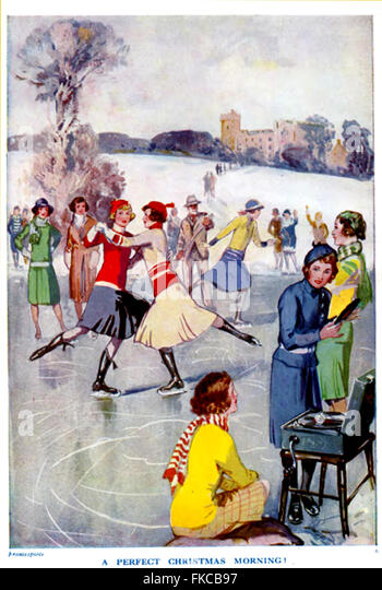 UK Illustrations Magazine Plate - Stock Image