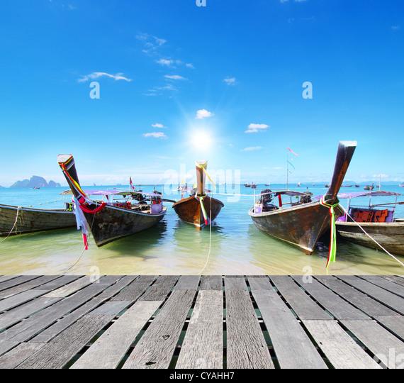Andaman Sea, Thailand - Stock Image