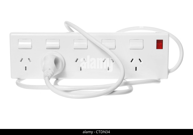 Power Strip - Stock Image