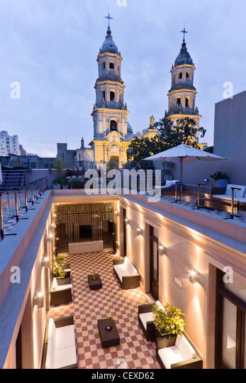 Hotel Sagardi Loft Osteria in San Telmo, Buenos Aires, Argentina - Stock Image