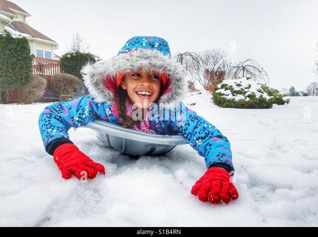 Snow Day - Stock Image