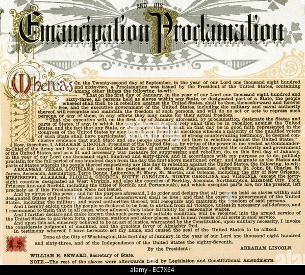Emancipation date