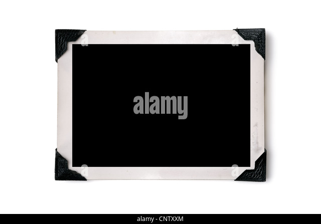 Photo border - Stock Image