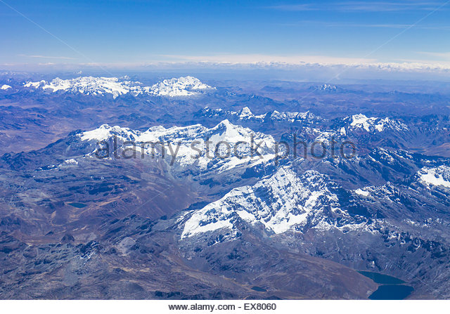 Peru, Cusco, Lima, View of landscape. - Stock Image