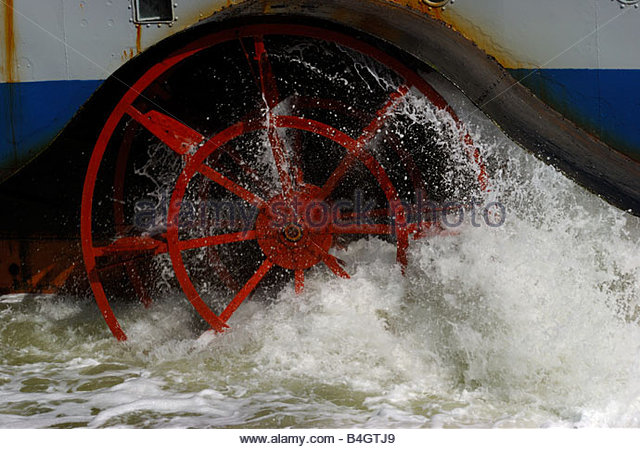 River Boat Ferry Paddle Wheel Stock Photos Amp River Boat