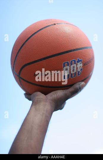 Florida, basketball, hand, arm sky, - Stock Image