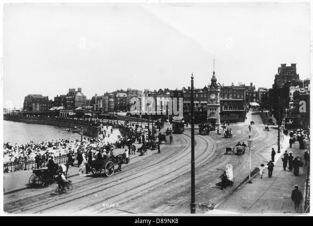 Margate 1908 - Stock Image