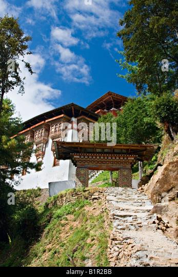 Tango Goemba (monastery), Bhutan, Asia - Stock Image