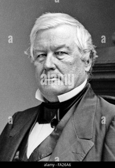 Millard Fillmore, the 13th President of the United States (1850?1853), - Stock-Bilder