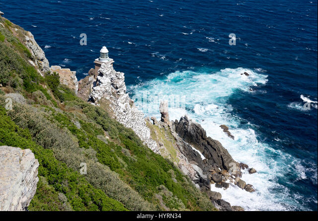 Cape Point Lighthouse South Africa - Stock Image