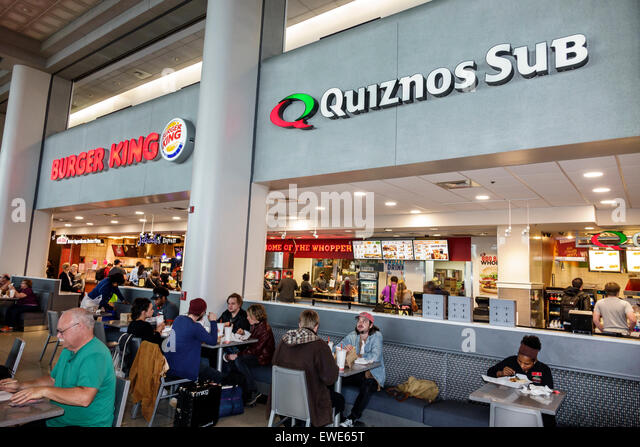 airport food court stock photos airport food court stock images alamy. Black Bedroom Furniture Sets. Home Design Ideas