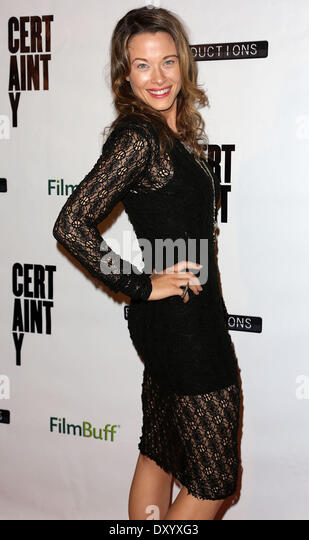 The Los Angeles premiere of 'Certainty' at Laemmle Music Hall - Arrivals Featuring: Scottie Thompson Where: - Stock Image