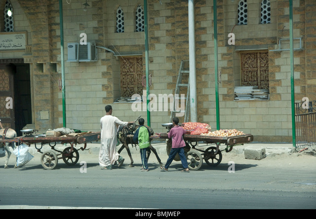 Egypt, Cairo. Everyday life in downtown Cairo. - Stock-Bilder