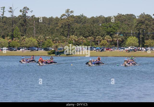 Dragon Boat Races Myrtle Beach South Carolina