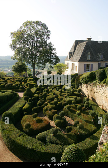 Jardin de marqueyssac stock photos jardin de marqueyssac stock images alamy - Les jardins de marqueyssac ...