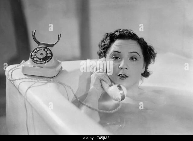 Lucy English in 'The Countess of Monte Cristo', 1932 - Stock Image