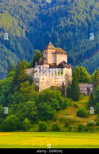 Italy, Europe, travel, Brenner, Valley, Castle, Vipiteno, Italy, Europe, travel, architecture, brennero, history, - Stock-Bilder