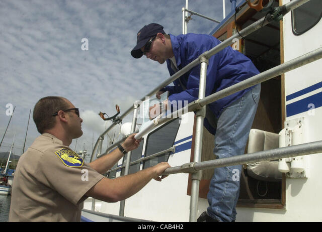 Fish and game warden stock photos fish and game warden for Ca game and fish