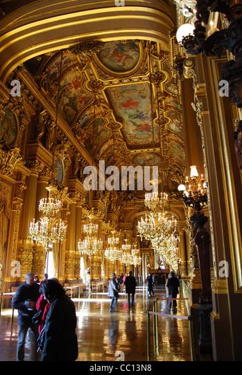 Opera house Paris France number - Stock Image