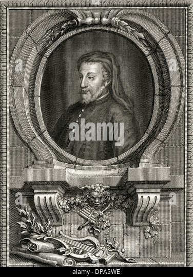 GEOFFREY CHAUCER/COLLYER - Stock Image