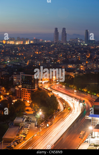 Turkey, Istanbul, Beyoglu, Tünel district, general view - Stock Image