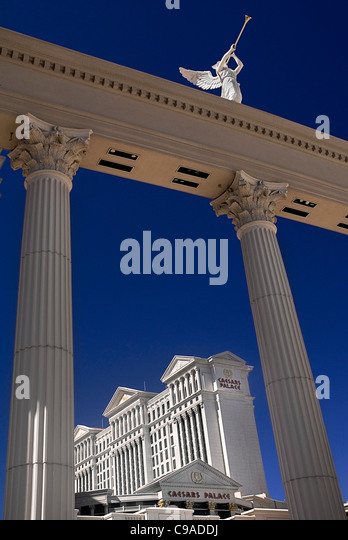 Statues outside caesars palace stock photos statues for Garden statues las vegas nv