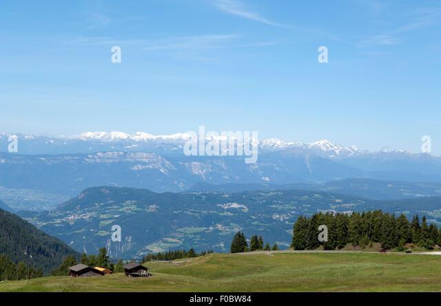 Oetztaler; Alpen; Seiser; Alm; Blick, Zillertaler - Stock-Bilder